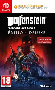 Wolfenstein Youngblood - Deluxe Edition (Nintendo Switch) - Cover