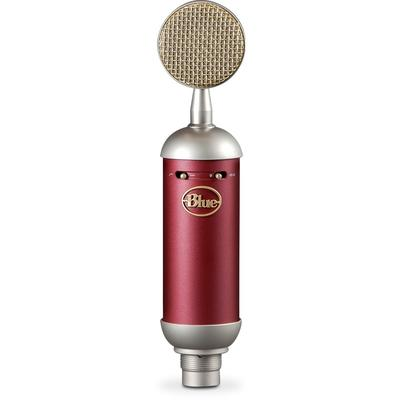 Blue Spark SL Studio Condenser Microphone (Red and Silver)