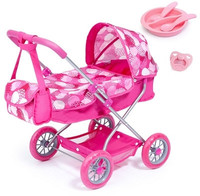 Bayer - Smarty Doll's Pram Set With Bag & Accessories (Pink) - Cover