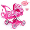 Bayer - Smarty Doll's Pram Set With Bag & Accessories (Pink)