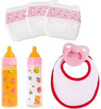 Bayer - Piccolina New Born Baby Doll Accessories Set - Cover