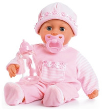 Bayer - First Words Baby Doll - 38cm (Light Pink) - Cover