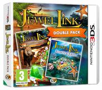 Jewel Link Double Pack - Safari Quest and Atlantic Quest (3DS) - Cover