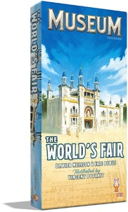 Museum - The World's Fair Expansion (Card Game) - Cover