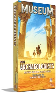 Museum - The Archaeologists Expansion (Card Game) - Cover