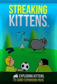 Exploding Kittens - Streaking Kittens (Card Game) - Cover
