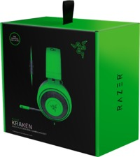 Razer - Kraken Gaming Headset with Cooling Gel Earpads for Ambitious Gamers - Green (PC/Gaming)