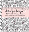 Johanna Basford Weekly Coloring Planner 2020 Calendar - Johanna Basford (Calendar)