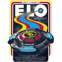"""Electric Light Orchestra 2018 Tour 18"""" X 24"""" Poster"""
