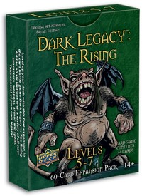 Dark Legacy: The Rising - Levels 5-7 Expansion (Card Game) - Cover