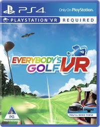 Everybody's Golf VR (PS4) - Cover