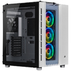 Corsair - Crystal Series 680X RGB ATX High Airflow Tempered Glass Smart Chassis - White