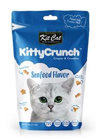 Kit Cat - Kitty Crunch Biscuits 60g (Seafood) - Cover