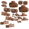 Mantic Games - Terrain Crate: Dungeon Debris W1 (Miniatures)
