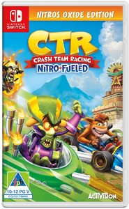 Crash Team Racing Nitro Fueled - Nitros Oxide Edition (Nintendo Switch) - Cover