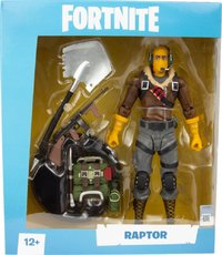 McFarlane Toys - Fortnite Raptor - Premium Action Figure 7 inch (Figurine) - Cover