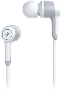 Genius HS-M225 In-Ear Headphones with Mic - White - Cover