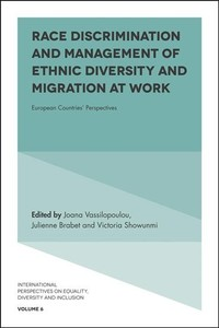 Race Discrimination And The Management Of Ethnic Diversity At Work - Mustafa Ozbilgin (Hardcover) - Cover