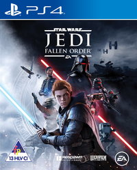 Star Wars Jedi: Fallen Order (PS4) - Cover