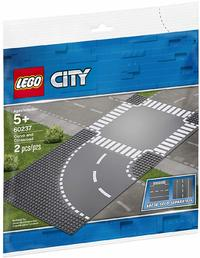 LEGO® City - Curve and Crossroad (2 Pieces) - Cover