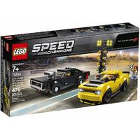 LEGO® Speed Champions - 2018 Dodge Challenger SRT Demon and 1970 Dodge Charger R/T (478 Pieces)