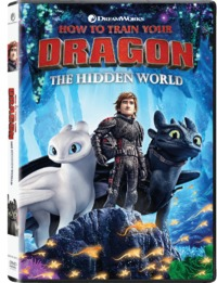 How to Train Your Dragon: The Hidden World (DVD) - Cover