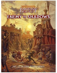 Warhammer Fantasy Roleplay: 4th Edition - Enemy in Shadows (Role Playing Game) - Cover