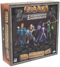 Clank! Legacy: Acquisitions Incorporated - Upper Management Pack (Board Game) - Cover