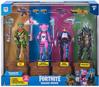 Fortnite Battle Royale - Squad Mode Core Figure 4 Pack (Figures)