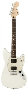 Squier FSR Bullet Mustang HH Limited Edition Electric Guitar (Olympic White)