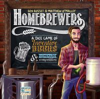 Homebrewers (Board Game) - Cover