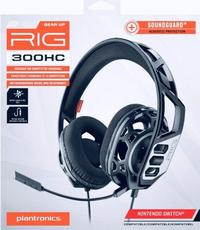 Plantronics GameCom RIG 300 Stereo Gaming Headset for PC (3.5mm) - Cover