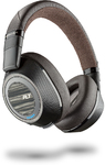 Plantronics BackBeat PRO 2 On-Ear Wireless Headphones with Active Noise Cancellation - Black and Tan (Bluetooth & 3.5mm Stereo & USB)