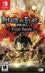 Attack On Titan 2: Final Battle (US Import Switch)