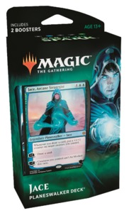 Magic: The Gathering - War of the Spark Planeswalker Deck - Jace (Trading Card Game) - Cover