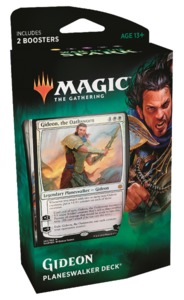 Magic: The Gathering - War of the Spark Planeswalker Deck - Gideon (Trading Card Game) - Cover