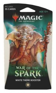 Magic: The Gathering - War of the Spark Single Theme Booster - White (Trading Card Game) - Cover