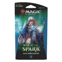 Magic: The Gathering - War of the Spark Single Theme Booster - Blue (Trading Card Game)