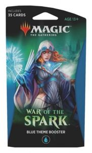 Magic: The Gathering - War of the Spark Single Theme Booster - Blue (Trading Card Game) - Cover