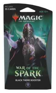 Magic: The Gathering - War of the Spark Single Theme Booster - Black (Trading Card Game) - Cover