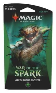 Magic: The Gathering - War of the Spark Single Theme Booster - Green (Trading Card Game) - Cover