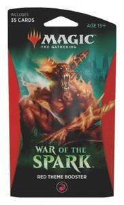Magic: The Gathering - War of the Spark Single Theme Booster - Red (Trading Card Game) - Cover