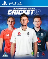 Cricket 2019 International Edition (PS4) - Cover