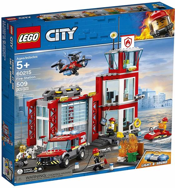 LEGO® City Fire - Fire Station (509 Pieces)