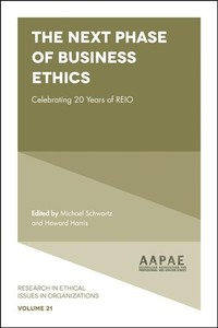 The Next Phase Of Business Ethics - Michael Schwartz (Hardcover) - Cover
