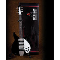 Axe Heaven - Black Ric Sullivan Mini Guitar Replica (Collectible Mini Instrument)