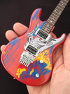 Axe Heaven - Joe Satriani Silver Surfer Miniature Guitar (Collectible Mini Instrument)