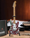 Axe Heaven - Jimi Hendrix Saville Fender Strat Mini Replica (Collectible Mini Instrument)