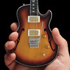 Axe Heaven - Neal Schon Sunburst Prs Mini Guitar Replica (Collectible Mini Instrument)