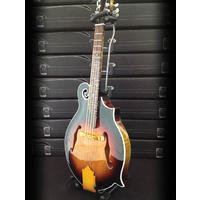 Axe Heaven - Classic Sunburst F-Style Mandolin Mini Guitar (Collectible Mini Instrument)